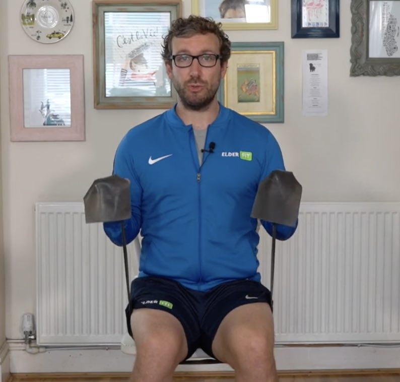 Seated Band Workout #2